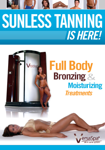 versa spa sunless spraytan booth